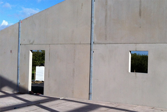 wall panel precast manufacture